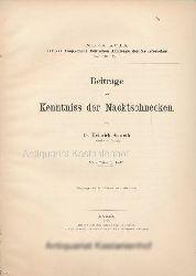 Simroth, Heinrich  Beiträge zur Kenntniss der Nacktschnecken