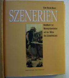 Bauer, Lian Maria  Szenerien. Handbuch zur Warenpräsentation auf der Bühne des Schaufensters.,Fotos: Hans Seidenabel u.a.. Erste Auflage.