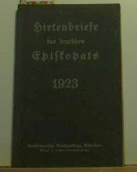 Hirtenbriefe des deutschen Episkopats 1923,