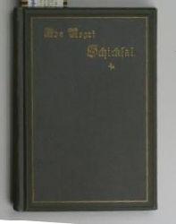 Negri, Ada  Schicksal,Gedichte, ins Deutsche übertragen von Hedwig Jahn, 3. Auflage