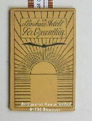 Adelt, Leonhard  Der  Ozeanflug, ,Novelle