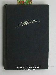 Frey, Adolf  Arnold Böcklin,Nach den Erinnerungen seiner Zürcher Freunde, mit einem Jugendbildnis Böcklins von Rudolf Koller, 2. durchgesehene und erweiterte Auflage
