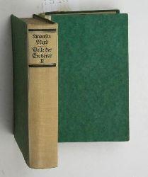 Andersen Nexø, Martin  Pelle der Eroberer,Roman in 2 Bänden, Übertragung von Mathilde Mann, 4.-13. Tausend