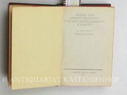 Browning, Robert ; Barrett, Elizabeth  Briefe,mit zwei Porträts, Übertragung von Felix Paul Greve, wohlfeile Ausgabe, deutsche Erstausgabe