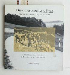 Knauer, Mathias ; Frischknecht, Jürg  Die  unterbrochene Spur,antifaschistische Emigration in der Schweiz von 1933 bis 1945, Übersetzungen: Stefania Quadri, 2. Auflage