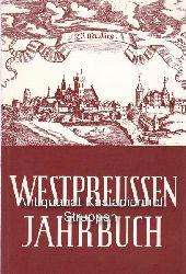 Lippky, Gerhard u.a. (Redaktion)  Westpreussen-Jahrbuch,,Band 17, Herausgegeben von der Landsmannschaft Westpreussen, mit zahlreichen Abbildungen