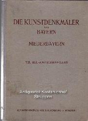 Karlinger, Hans ; Sturm, Josef ; Müllerklein, Kurt  Die  Kunstdenkmäler von Niederbayern,,VIII: Bezirksamt Eggenfelden, mit zahlreichen Abbildungen