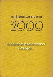 Bellamy, Edward  Ein Rückblick aus dem Jahre 2000.