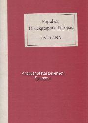 Laver, James  Populäre Druckgraphik Europas.,England. Vom 15. bis zum 20. Jahrhundert.