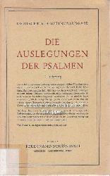 Diverse  Die Auslegung der Psalmen.
