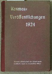Kosmos  Kosmos-Veröffentlichungen 1924