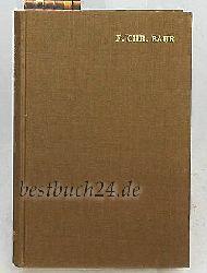 Baur, Ferdinand Christian  Ausgewählte Werke in Einzelausgaben,Herausgegeben von Klaus Scholder  Band 2 (zwei) - Die Epochen der kirchlichen Geschichtsschreibung (1852). Dogmengeschichtliche Vorreden aus
