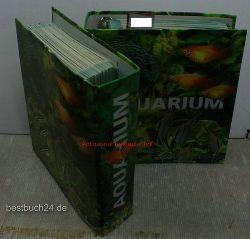 Sammelalbum  Loseblatt Sammlung Aquarium in 2 vollen Ringordner,Register: Grundwissen, Beobachten und verstehen, Pflanzen, Karpfenartige und Schmerlien