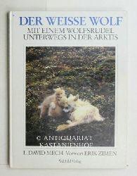 Mech, L. David  Der  weisse Wolf,mit einem Wolfsrudel unterwegs in der Arktis