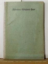 Bjørnson, Bjørnstjerne  Absalons Haar : Novelle,Deutsch von Wilhelm Meinhardt