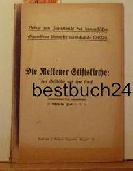 Fink, Wilhelm  Die  Mettener Stiftskirche, ihre Geschichte und ihre Kunst. ,Beilage zum Jahresbericht des humanistischen Gymnasiums Metten für das Schuljahr 1919/1920.