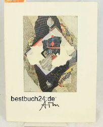 """Zimmermann, Ernst August (Redaktion)  Gratulation für ATM.,Broschüre zur Ausstellung in der """"e.a."""" Grafik-Galerie Erfurt, 1995."""