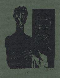 Borges, Jürgen  Orpheus und Eurydike. Original-Graphik signiert