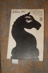 """.  """"Rahvusvaheline Paul Kerese mälestuturnir Tallinn 1977 (Internationales schachturnier Tallinn 1977)"""""""