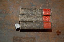 """Klopstock  """"Klopstocks sämmtliche Werke (vorhanden sind: Doppelband 1/2, 7/8, und Supplementband 1)"""""""