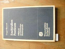 """""""Gregor Maurach""""  """"Enchiridion Poeticum  Hilfsbuch zur lateinischen Dichtersprache"""""""