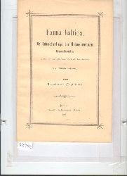 """""""Wilhelm Petersen""""  """"Fauna baltica  Die Schmetterlinge der Ostseeprovinzen Russlands  1. Theil Rhopaocera (Tagfalter)"""""""