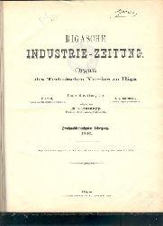M. Glasenpapp  Rigasche Industrie - Zeitung 32. Jahrgang  Organ des technischen Vereins zu Riga