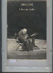 Brecht  Leben des Galilei   Gedichte aus dem Messingkauf   Die Horatier und die Kuriatier.