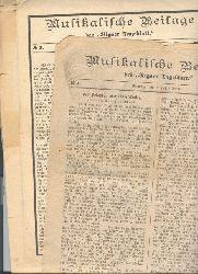 """"""""""""""".""""""""""""  """"Musikalische Beilage des Rigaer Tageblatt   Nr. 1,3,5,7,9,10-15,18-25"""""""