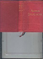 """""""K. Baedeker (Baedeker Reiseführer)""""  """"Italien  Handbuch für Reisende  Dritter Teil  Unter - Italien und Sizilien  nebst Ausflügen nach den Liparischen Inseln, Sardinien, Malta, Tunis und Corfu"""""""