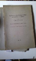 """Separata Acta Horti Botanici""  ""div. Einzeltitel Riga um 1930 -1940"""