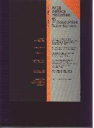 """"""""""""""".""""""""""""  """"Acta Baltica Historiae et Philosophiae Scientiarum Vol. 3 No. 1"""""""