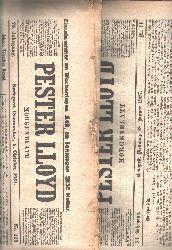 """"""""""""""".""""""""""""  """"Pester Lloyd (deutschprachige Tageszeitung aus Ungarn) Nr. 13 1927 und Nr. 228 1931"""""""