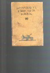 """Ingeborg Schager""  ""Kooperativa Förbundets Kokbok (schwedisches Kooperativenverbund Kochbuch)"""