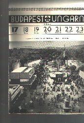 """""""Städtisches Fremdenverkehrsamt Budapest""""  """"Budapest Ungarn  Kalender für das Jahr 1940"""""""