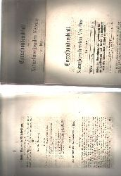 """"""""""""""".""""""""""""  """"Correspondenzblatt des Naturforschenden Vereins zu Riga  XIV Jahrgang  Nr. 1,3,6,7,8 1863 """""""
