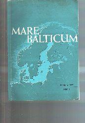 """.""  Mare Balticum Heft 1  Jahrgang 1969"