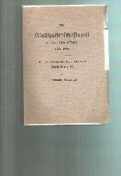 """""""Dr. Friedrich Bienemann""""  """"Die Statthalterschaft in Liv- und Estland (1783 - 1796) Ein Capitel aus der Regentenpraxis Katharinas II."""""""