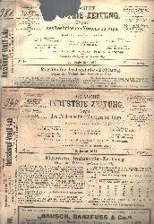 M. Glasenpapp  Rigasche Industrie - Zeitung 40. Jahrgang  Organ des technischen Vereins zu Riga