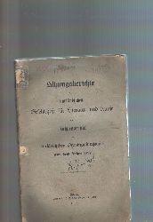 """"""".""""  Sitzungsberichte der kurländischen Gesellschaft für Literatur und Kunst und Jahresbericht des kurländischen Provinzialmuseums aus dem Jahre 1897"""