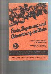 """""""R. Trenkle""""  """"Ernte, Lagerung und Verwertung des Obstes"""""""