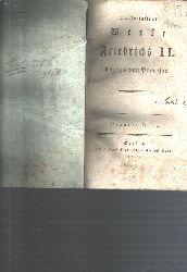 """"""""""""""".""""""""""""  """"Hinterlassene Werke Friedrichs II Königs von Preussen  Neunter und Zehnter Band (Briefe des Königs an Voltaire, an die Markisin du Chatelet und an Markis de Argens)"""""""