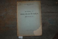 """""""Stoitchev Ivan Kr.""""  """"Un Voyage de Charles XII de suede en Bulgarie"""""""