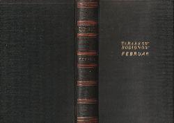 Tarassow-Rodionow, Alexander I.  Februar. Roman. [Autorisierte Übersetzung aus dem Russischen von Olga Halpern. Einbandentwurf von Georg Salter.].
