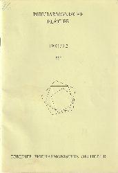 Berliner Philharmonisches Orchester (Hrsg.)  Philharmonische Blätter. 1981/82, Heft III.