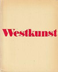 Glozer, Laszlo  Westkunst. Zeitgenössische Kunst seit 1939. [Auswahl und Zusammenstellung der Dokumente: Marcel Baumgartner, Kasper König, Laszlo Glozer].