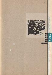 Berliner Festspiele GmbH (Hrsg.)  8. Mai 1945 / 8. Mai 1995. 50 Jahre Frieden in Deutschland. Veranstaltungen in Berlin und Brandenburg.