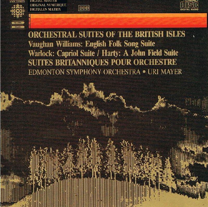 Orchestral Suites of the British Isles. CD (1985)